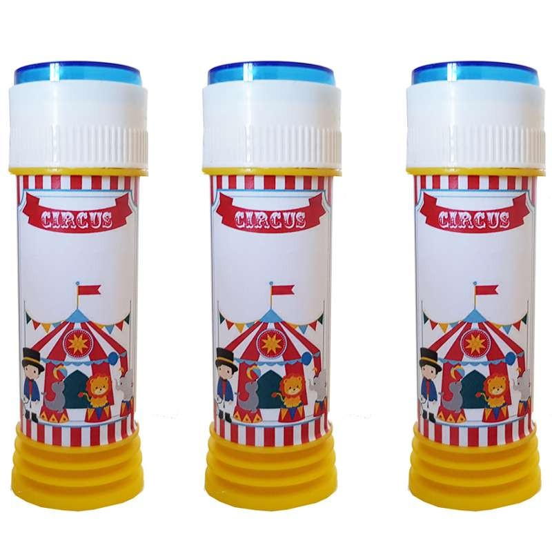 Bolle di sapone circo