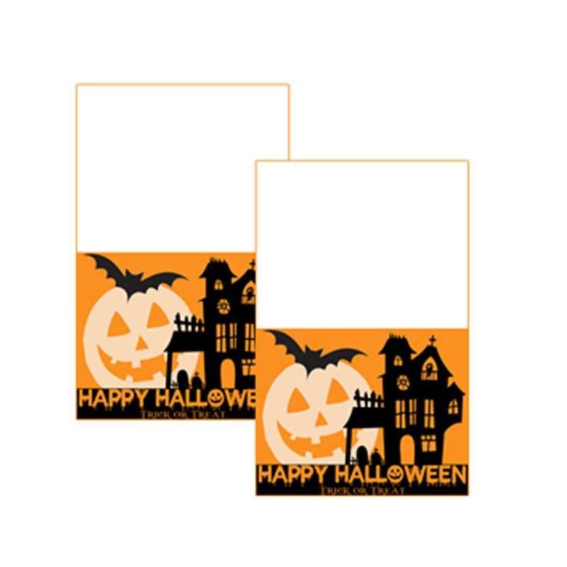 Targhetta segnaposto Halloween