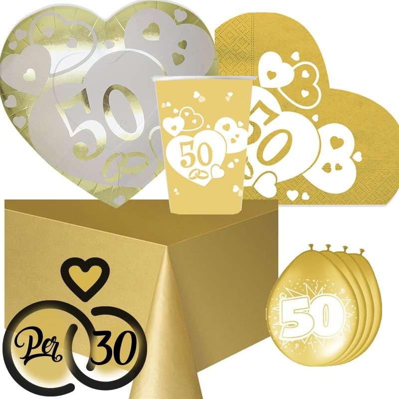 8 Anniversario Di Matrimonio.Coordinato Tavola 50 Anni Matrimonio