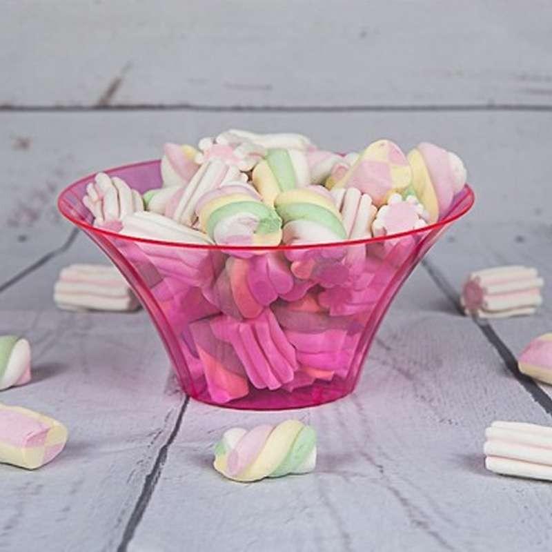 Contenitore rosa per caramelle