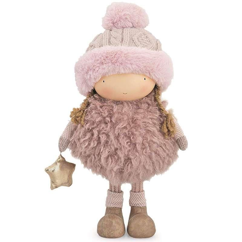 Bambola invernale decorativa