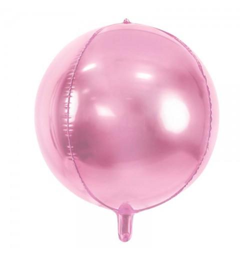 Foil palla rosa