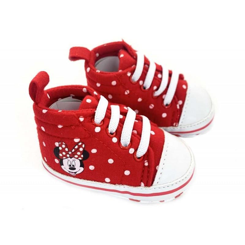 scarpine minnie rosse scarpine minnie neonata modello sneakers rosse