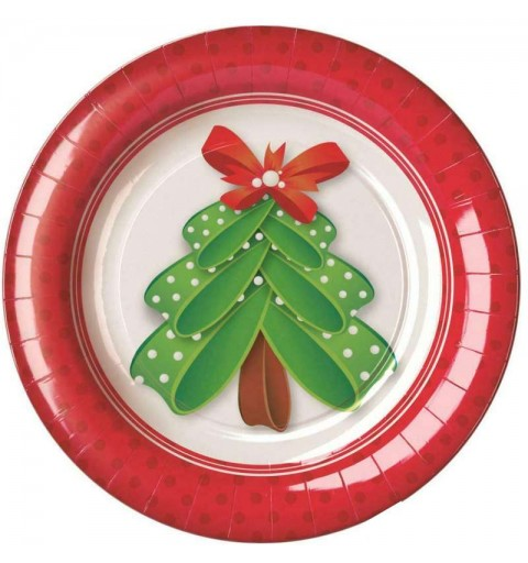 Piatti albero Natale