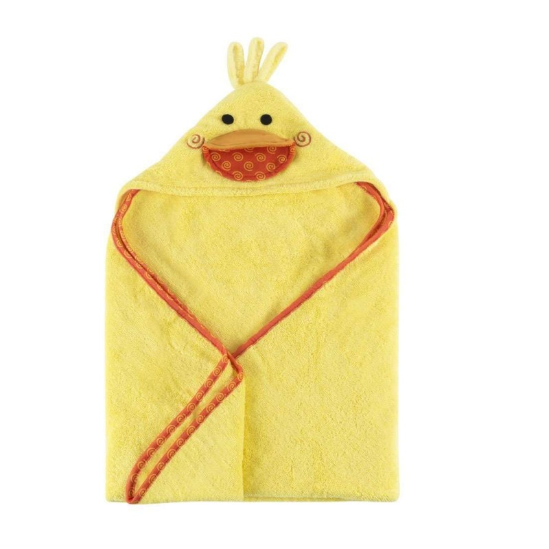 Asciugamano paperotto giallo
