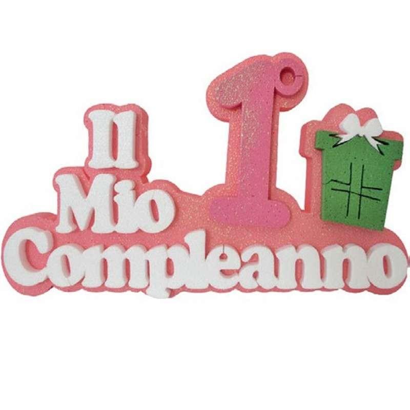 Il mio 1° compleanno rosa in polistirolo