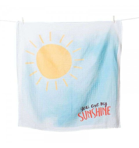 Copertina primo anno swaddle cotone sunshine