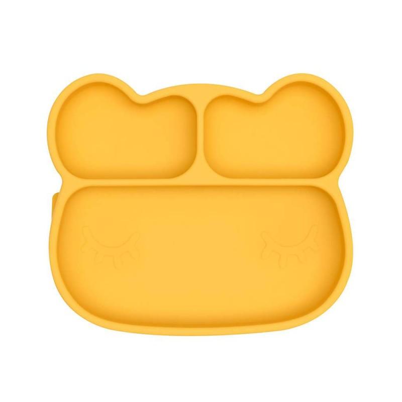 Piatto ventosa orso giallo
