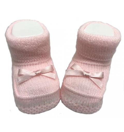Scarpine di cotone per neonata