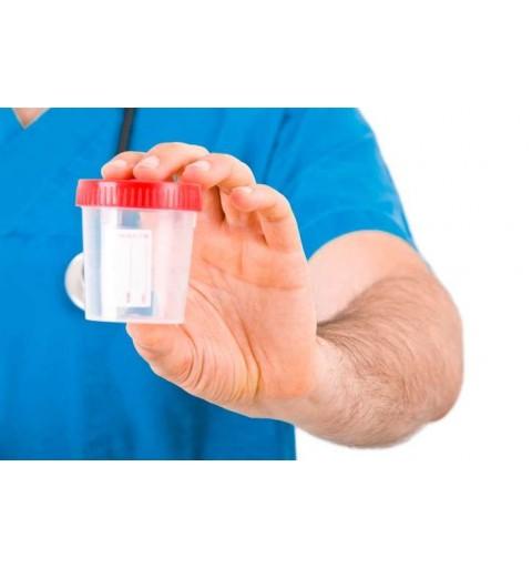 Contenitore per le urine di plastica