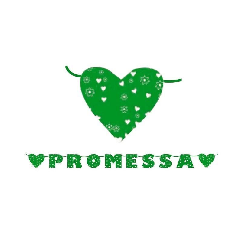 Festone promessa matrimonio for Addobbi per promessa di matrimonio