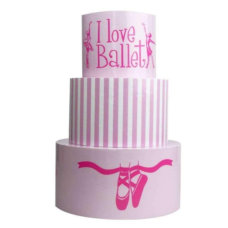 Torta finta Ballerina in vinile