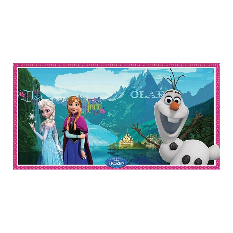 DECORAZIONE MURALE FESTA FROZEN DISNEY