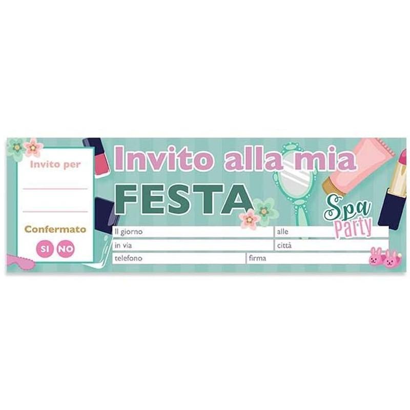 INVITI DI COMPLEANNO SPA...