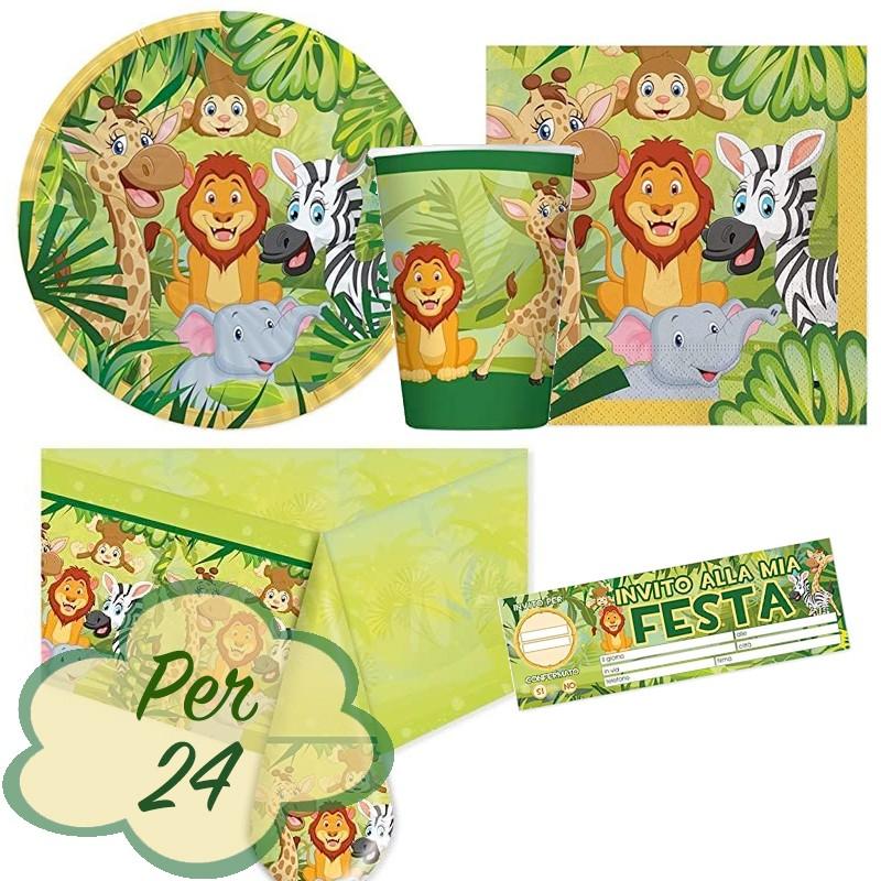compleanni decorazioni decorazioni per torte e cupcake 120 etichette per stuzzicadenti a forma di animali della giungla per bambini matrimoni