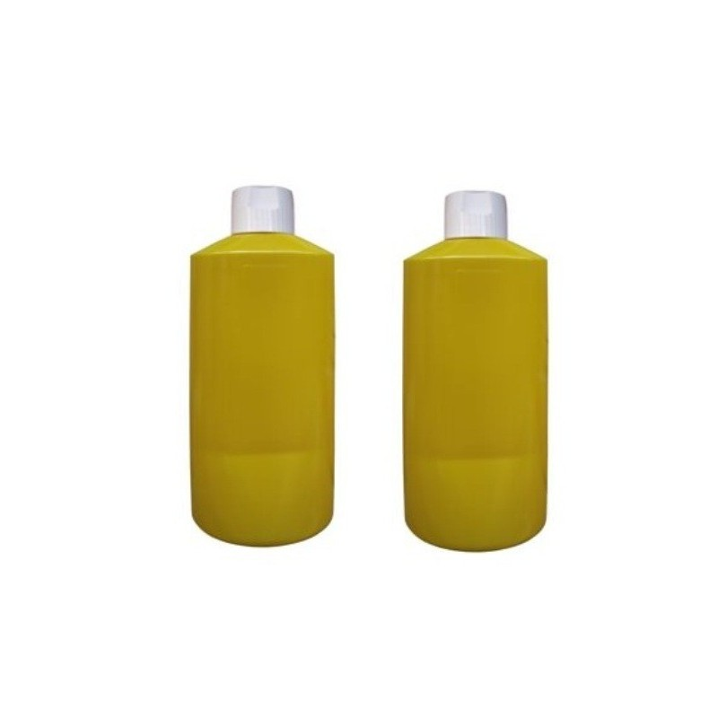 20321 2 X DISPENSER PER SALSE DOSATORE GIALLO 0,6 LITRI
