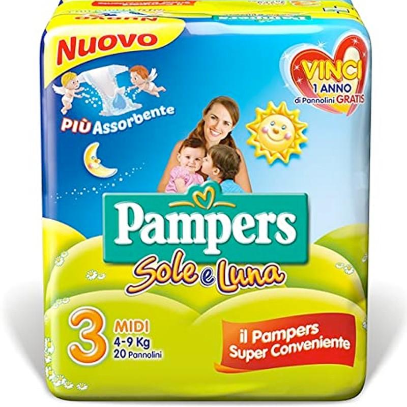 PACCO DI PANNOLINI PAMPERS...