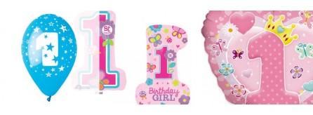 Palloncini 1 compleanno