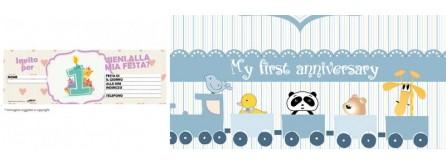 Inviti primo compleanno