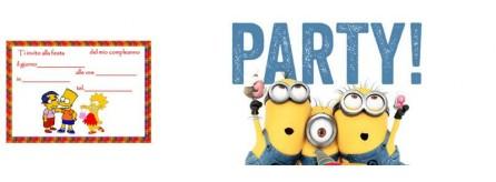 Inviti compleanno divertenti