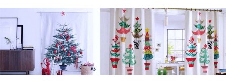 Addobbi natale decorazioni per la casa accessori gadget for Decorazioni tende