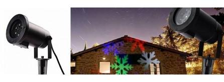 Proiettore Luci Natalizie Per Esterno Negozio.Luci Di Natale Luci Natalizie Da Interni Ed Esterni Irpot