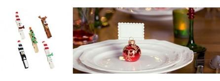 Segnaposto Natalizi Economici.Addobbi Natale Decorazioni Per La Casa Accessori Gadget Regali