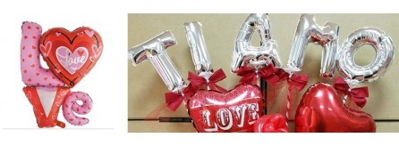 Palloncini romantici