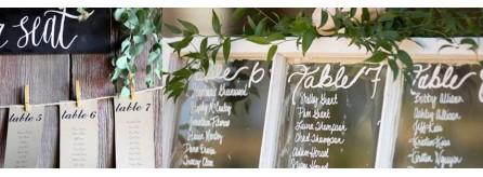 Tableau Matrimonio In Legno : Tableau mariage idee originali divisi per temi con fiori e foto