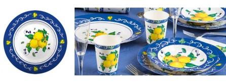 Festa a tema limoni - tema Sorrento
