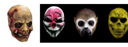 50-70% di sconto prezzi di sdoganamento lucentezza adorabile Maschere Halloween, horror, mostri, personaggi, per bambini ...