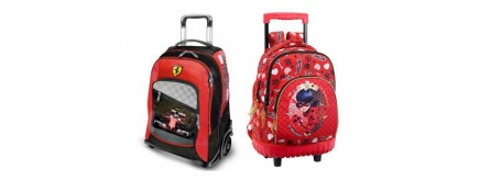 8088f1f662 Zaini scuola, trolley, zaini estensibili, zainetti e borsoni per la ...