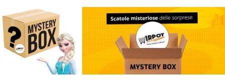 Mistery Box per feste di compleanno, scatole misteriose delle sorprese