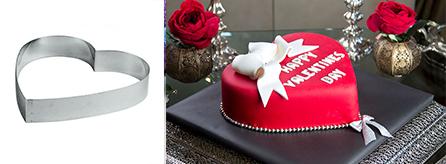 Accessori torta San Valentino