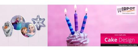 Candeline compleanno - Per decorazioni torte
