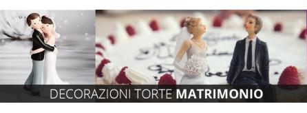 Decorazioni torte matrimonio