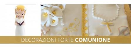 Decorazioni torte comunione