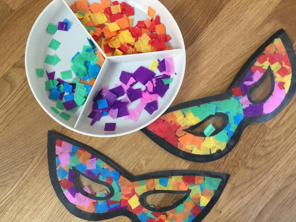 Decorazioni Carnevale Per La Casa.Lavoretti Di Carnevale Maschere Da Colorare Disegni E