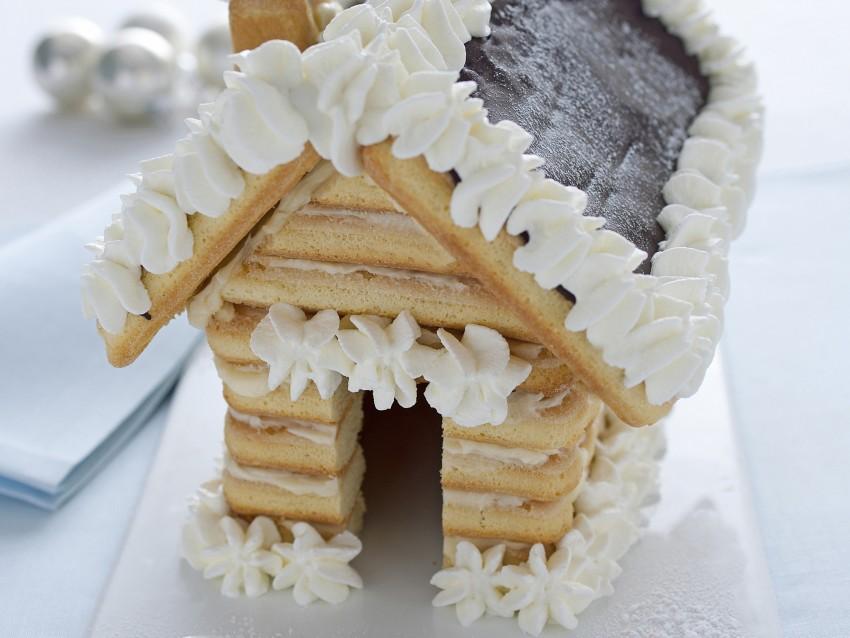 Casetta Di Natale Di Cioccolato : Casetta di pan di zenzero di luca montersino torte al cioccolato