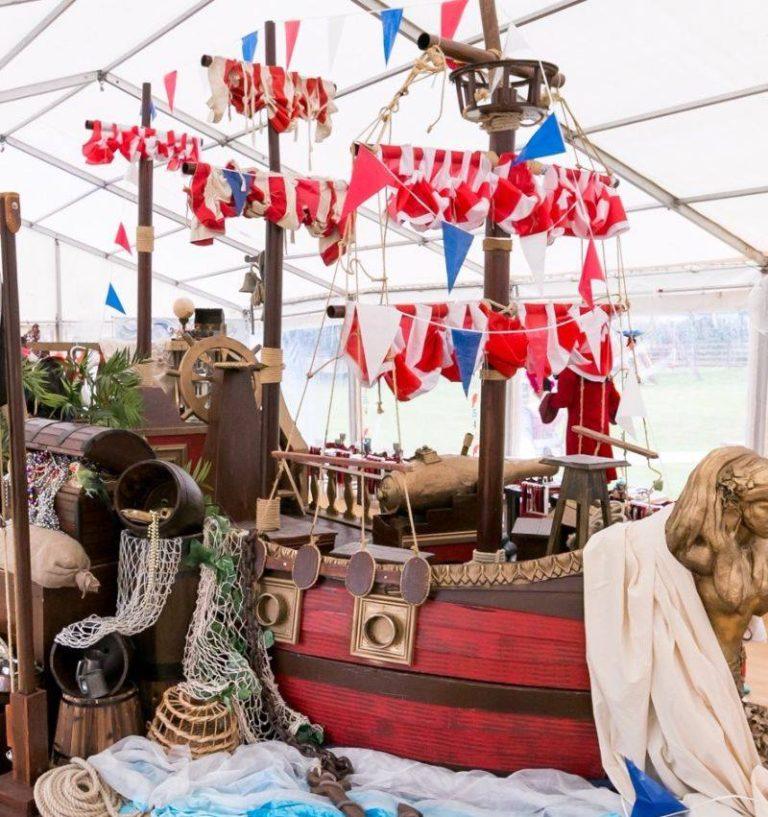 Festa a tema pirati guida addobbi e decorazioni for Decorazioni feste