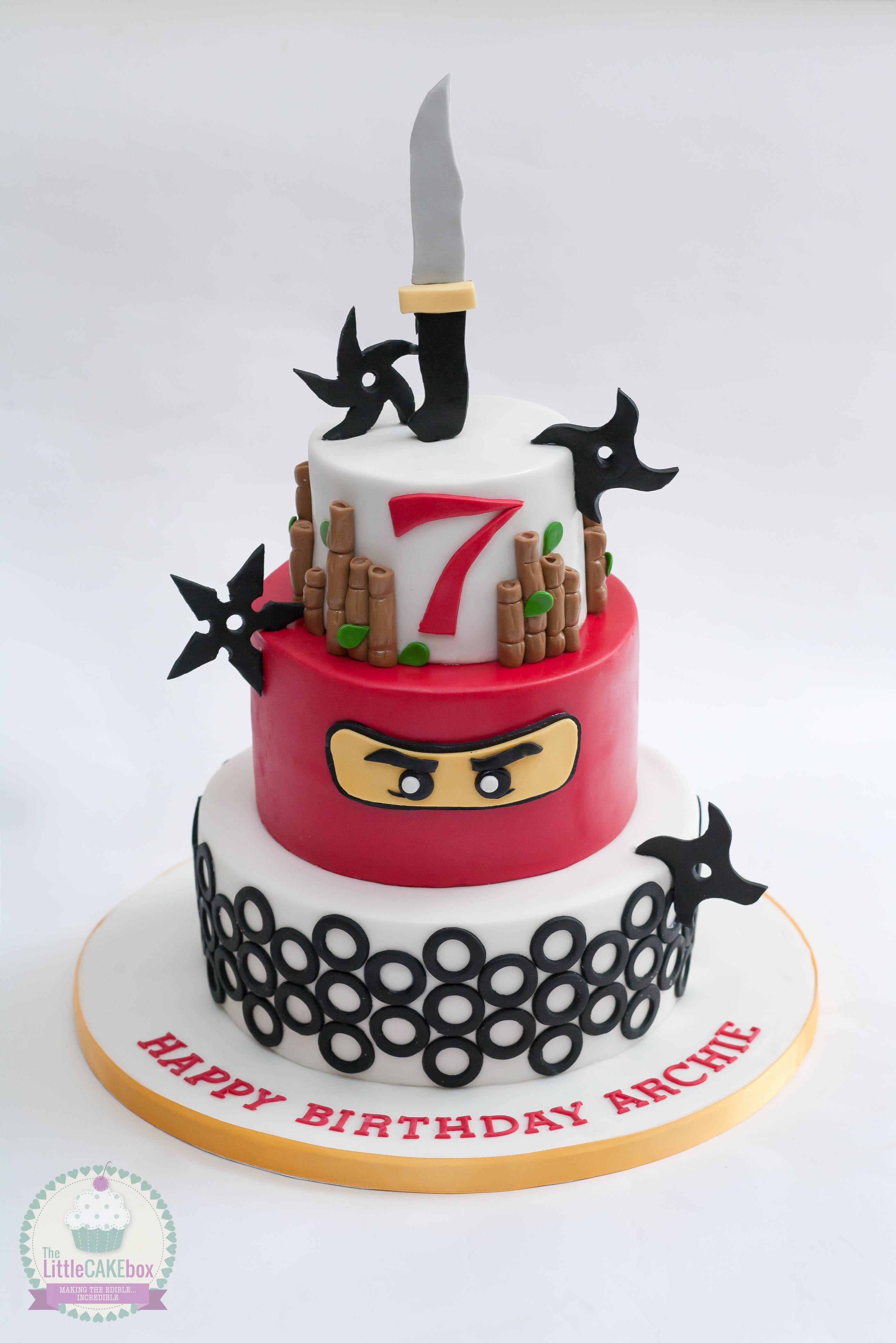 Torta lego ninjago 7 torte di compleanno da craere a casa for Decorazioni torte ninjago