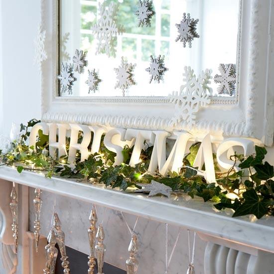 Popolare Come decorare il camino per Natale? Idee foto e decorazioni fai da UP43