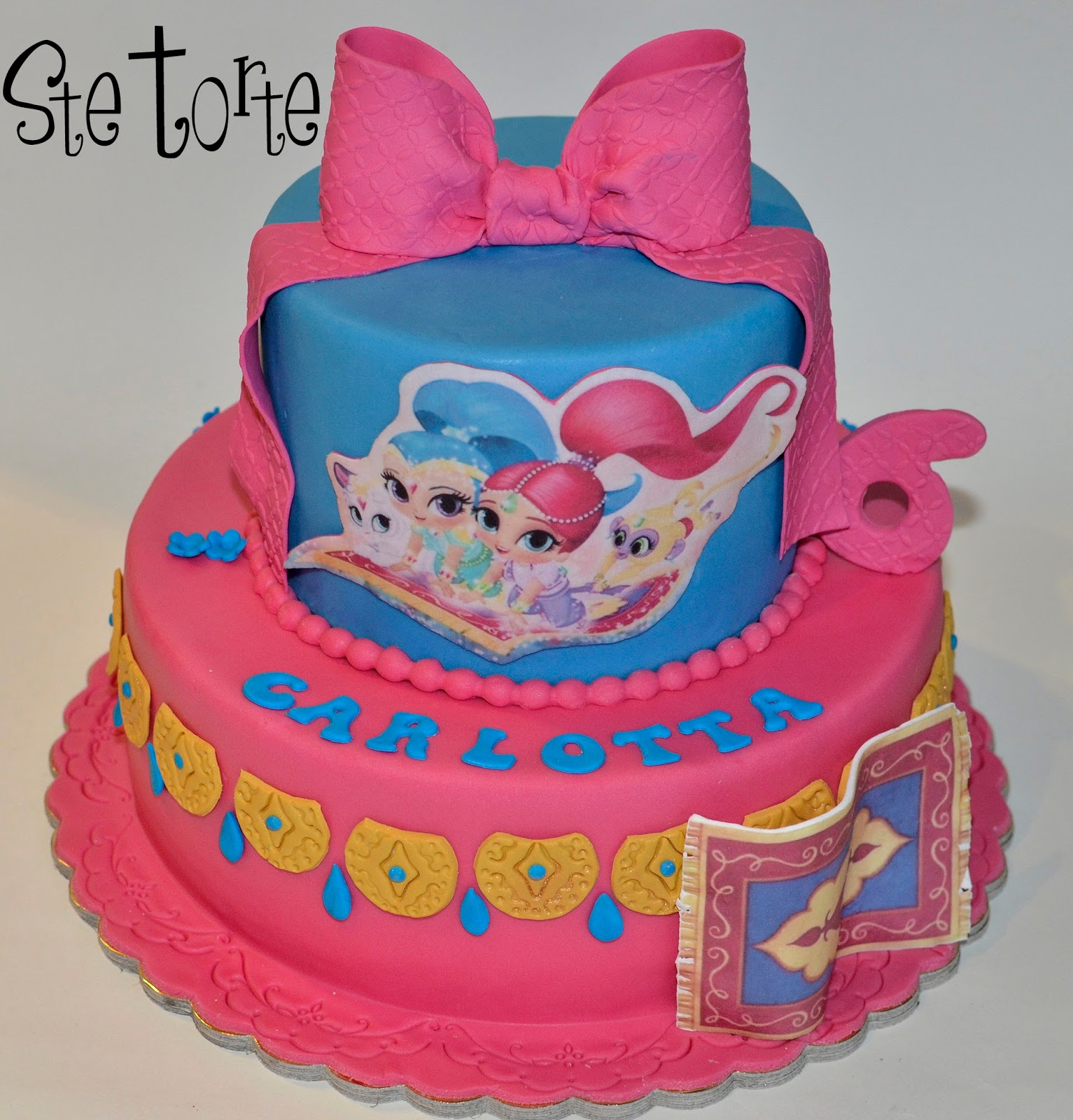 Torta shimmer and shine tante idee per creare una
