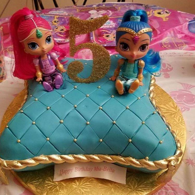 Torta Effetto Trapunta Tutorial.Torta Shimmer And Shine Tante Idee Per Creare Una Bellissima Torta