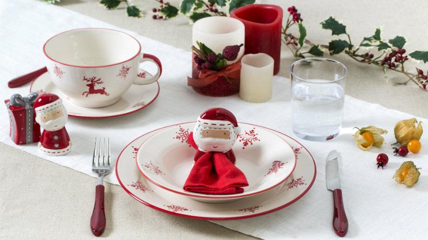 Tavola natalizia fai da te come apparecchiare con gusto - Addobbi natalizi sulla tavola ...