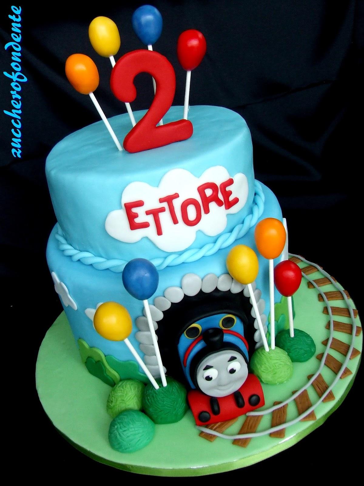 Torta trenino thomas 10 spunti creativi in pdz o cialda for Decorazioni torte trenino thomas