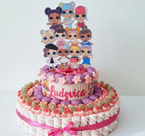 torta lol caramelle
