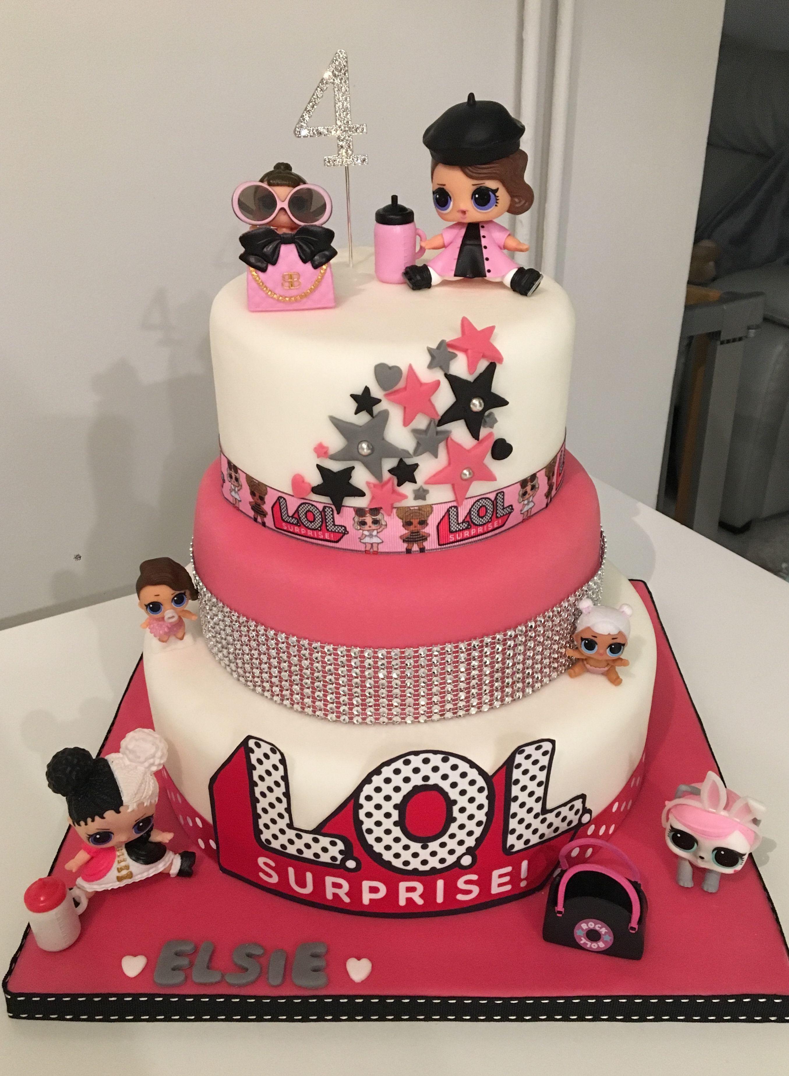 Bastoncini di zucchero da usare come decorazione delle torte LOL Surprise