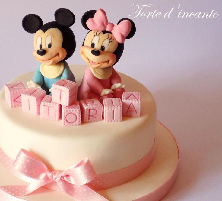 Torta minnie topolina torte di compleanno decorate in pdz