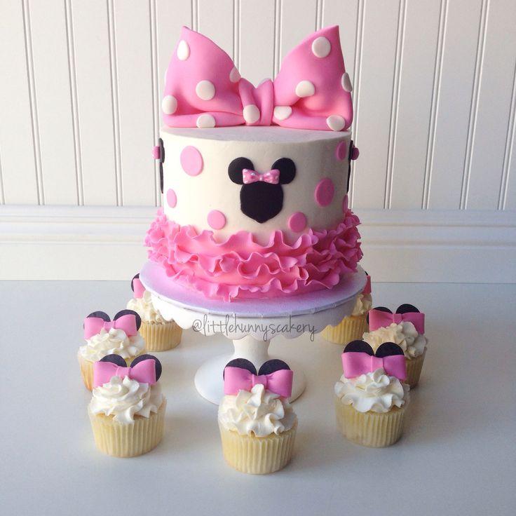 Torta Minnie Topolina 15 Torte Di Compleanno Decorate In Pdz